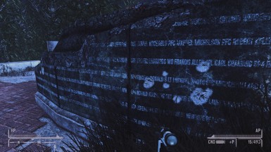 The Memorial has names engraved in it