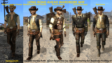 Long Road Ahead - Courier's Wardrobe WIP