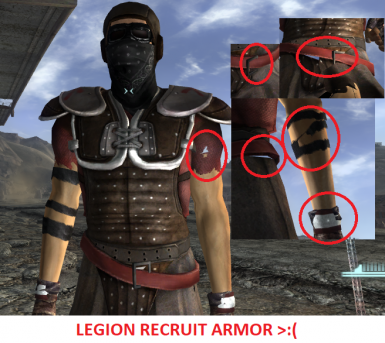 Let's fix the armors of the Legion