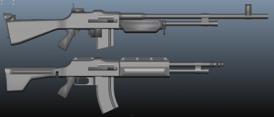 Automatic Rifle Early WIP