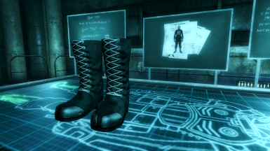 Boots Made for Sneaking