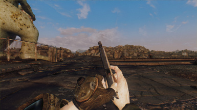 Animation - Terminator 2 Style Lever Action and 9mm Pistol Reload replacer