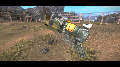 FNV Arsenal Weapons Overhaul - Tri-Beam Laser Rifle