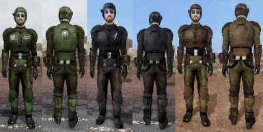 Preview - TTW Classic Combat Armor Replacer Suite