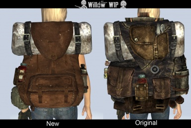 Willow Backpack WIP