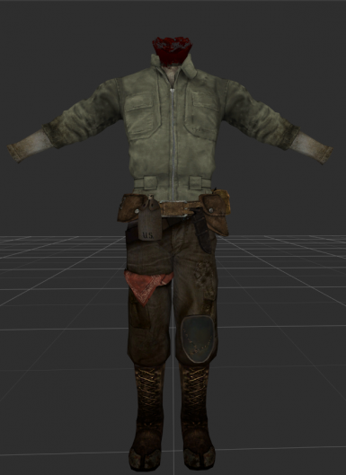 WIP Armored Jumpsuit