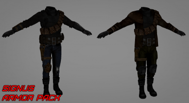 Armor Pack concepts
