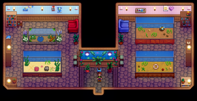 Ridgeside Village Fish for Stardew Aquarium