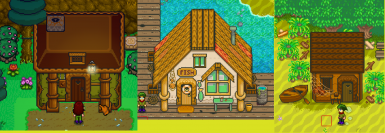 beach buildings and the guild