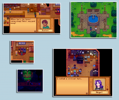Stardew Valley Expanded - Dynamic Schedules