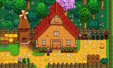 Stardew Valley Expanded - Grandpa's Shed