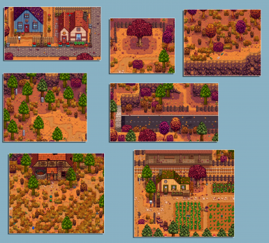 Stardew Valley Expanded - Autumn Leaves
