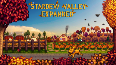 Stardew Valley Expanded new cover art