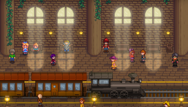 Stardew Valley Expanded - Modern Train Station