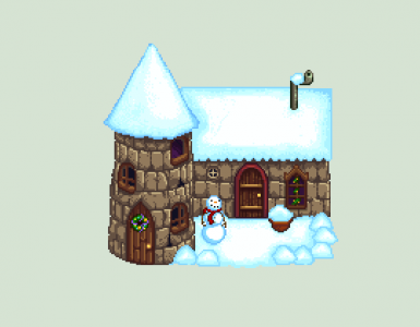 Winter Wizard House