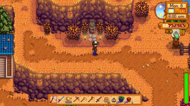 Blackberry Season in Stardew Valley