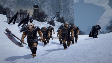 Orcish army in Nordmar