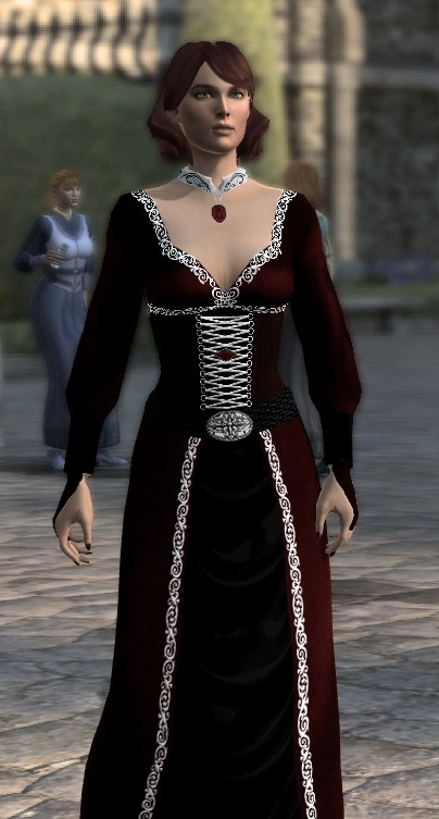 Marie Hawke In Mms Orlesian Dress At Dragon Age Mods And