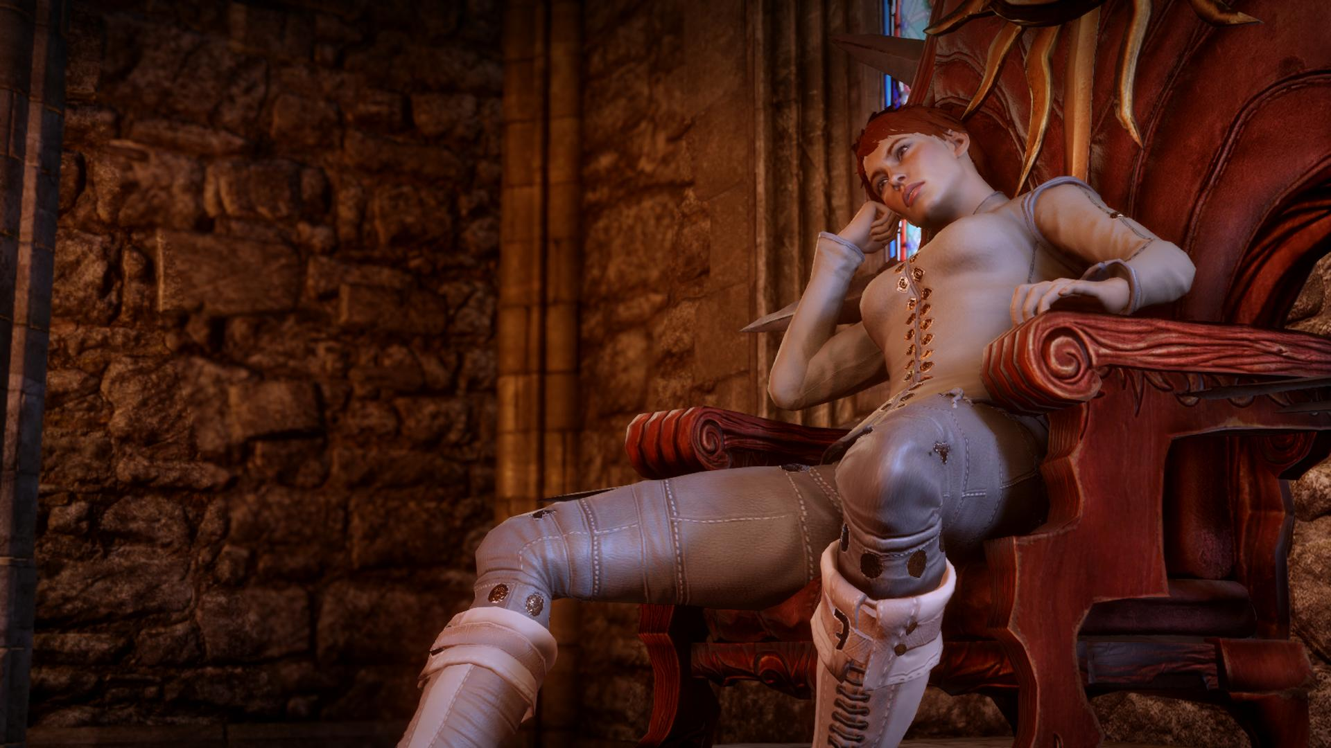 Dragon age ii nude mod naked heroes and sexy armor