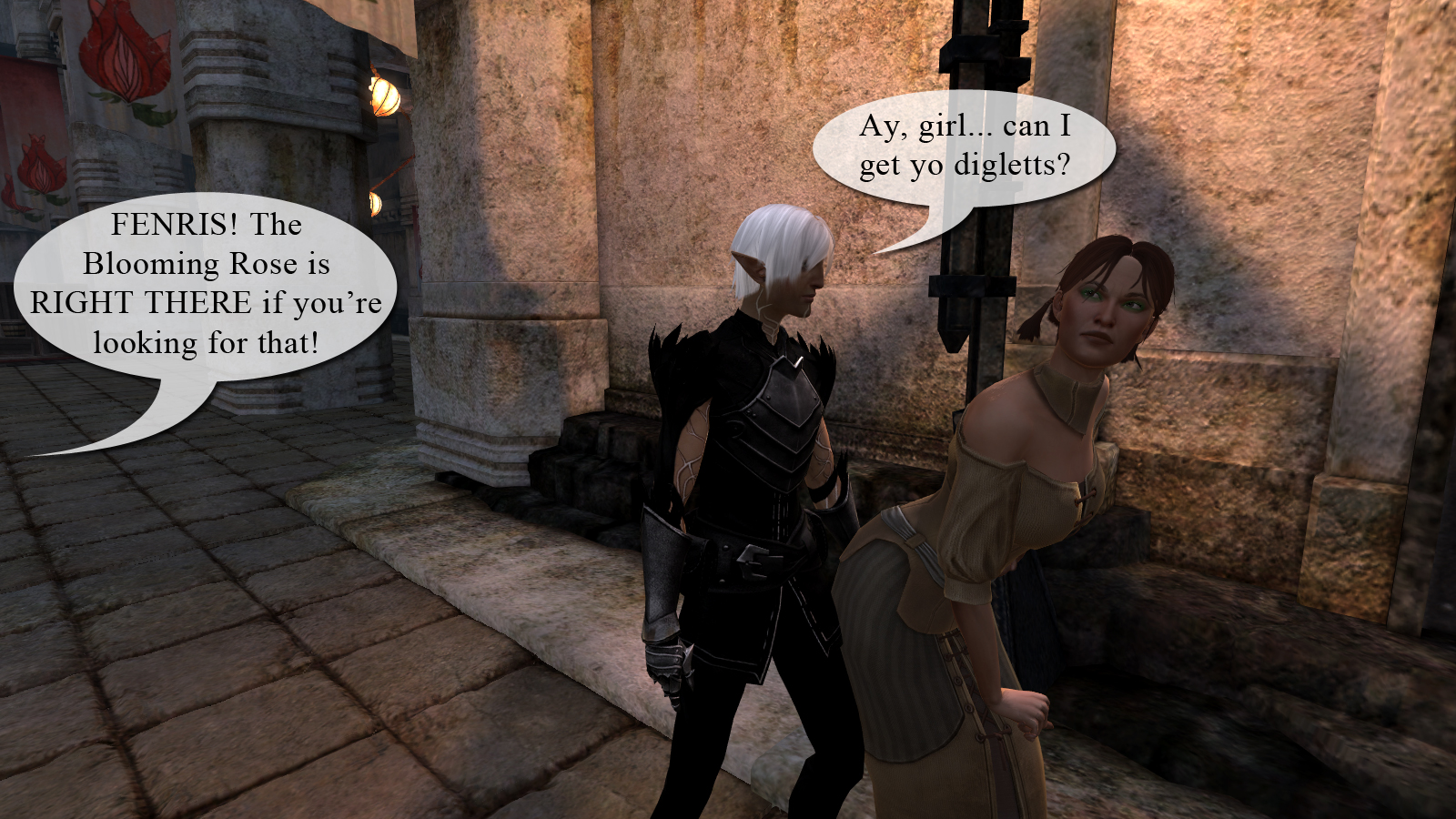 Fenris Wants To Tap That At Dragon Age Mods And Community