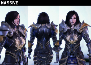 Female Armor Replacer Preview