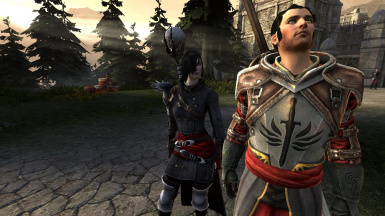 Templar Carver with Apostate Emo Sister