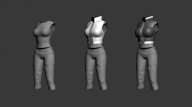 Claire Outfit -- WIP
