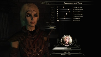 My new character
