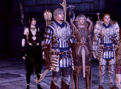 Our party four friends come save circle of mages