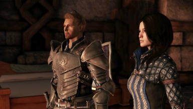 Alistair and Warden Amell