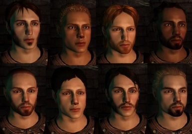 Faces created using my sliders