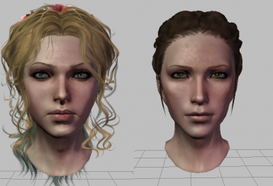 Isolde and Anora Morphs