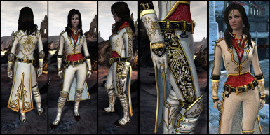 Robes of the Golden Rose of Orlais