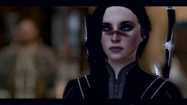 mira hawke close up
