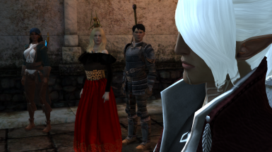dress and fenris