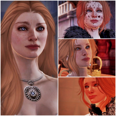 I loved my dorky Hawke and her smiles