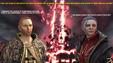 Anders vs Grand Cleric Elthina