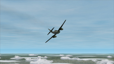 following a me 262