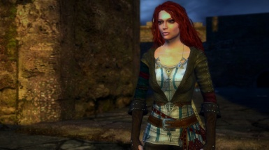 Triss outfit inspired from Witcher 2