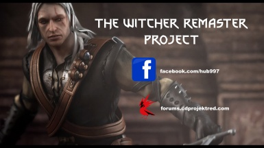 Witcher Remaster Project Facebook and Forum