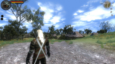 Generic Village Nro 523 in the witcher's path