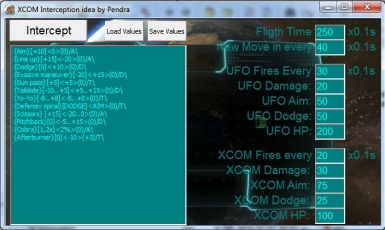 XCOM Interception Minigame emulation settings