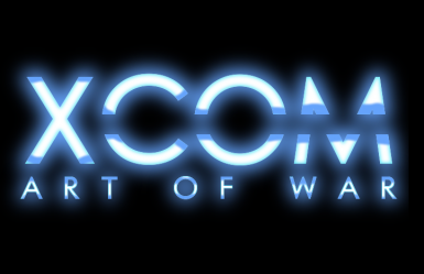 XCOM Art of War Logo without scanlines