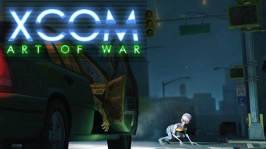 XCOM Art of War splash screen