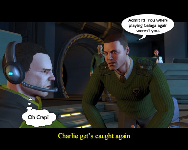 Charlie is caught