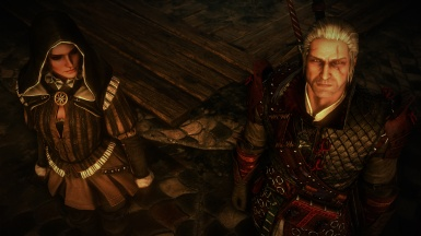 Geralt and the Sorceress
