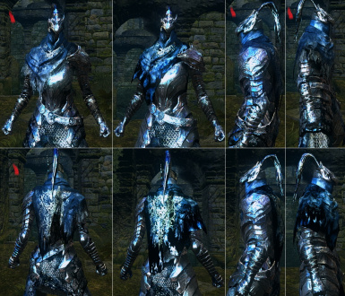 Faild at Restoring Knight Artorias Armor