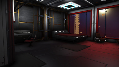 Freighter base owner's cabin