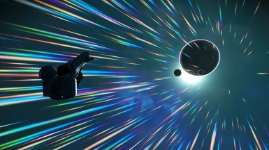 Hangin' out in hyperspace