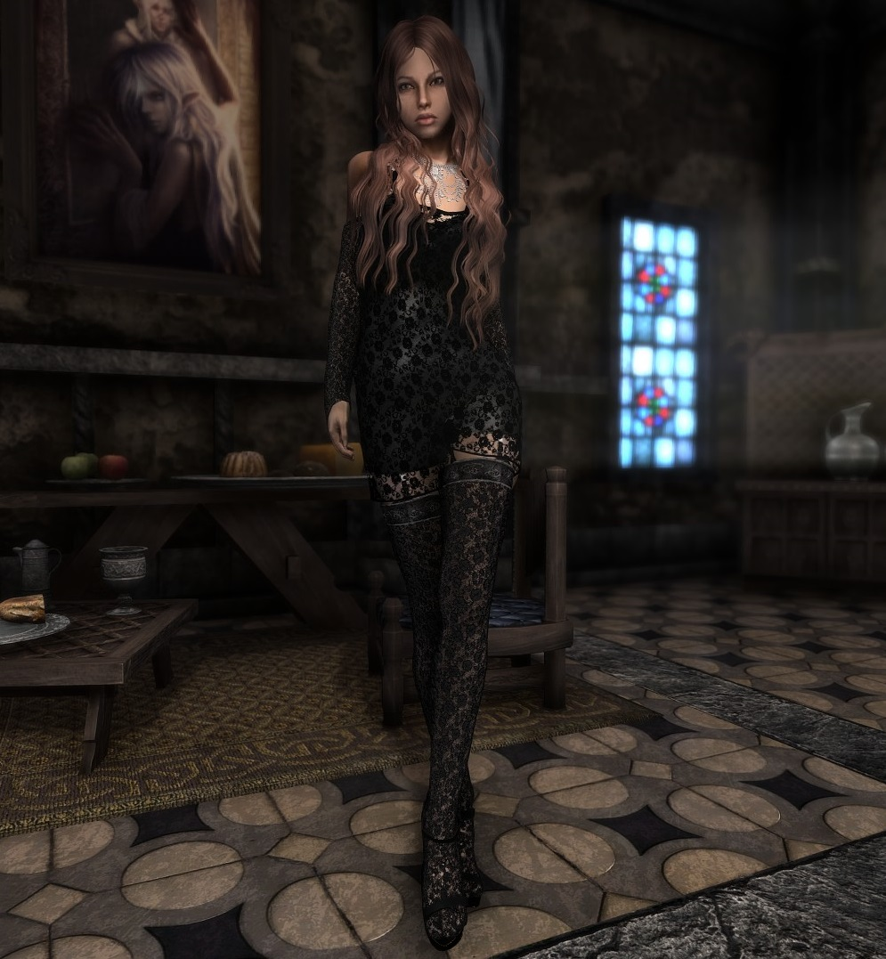 Skyrim Black Dress Mod – Little Black Dress | Black Lace Bridesmaid